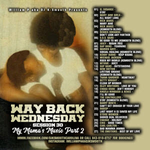 Way Back Wednesday Session 30